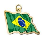 Brazil Flag Charm