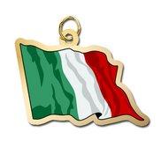 Italy Flag Charm