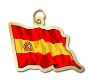 Spain Flag Charm