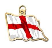 England Flag Charm
