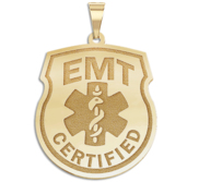 Certified EMT Badge Pendnat