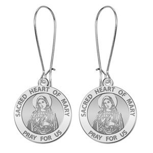 Sacred Heart of Mary Earrings  EXCLUSIVE