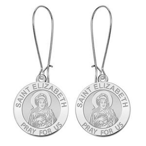 Saint Elizabeth  Mary s Cousin  Earrings  EXCLUSIVE