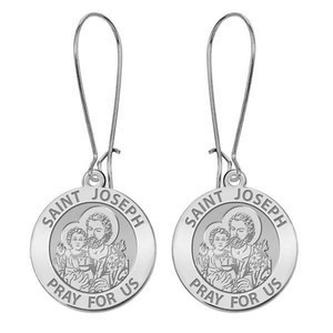 Saint Joseph Earrings  EXCLUSIVE