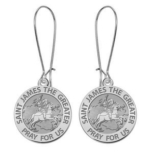 Saint James the Greater Earrings  EXCLUSIVE