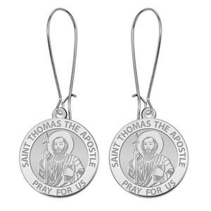 Saint Thomas the Apostle Earrings  EXCLUSIVE