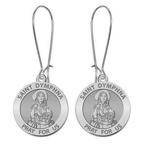 Saint Dymphna Earrings  EXCLUSIVE