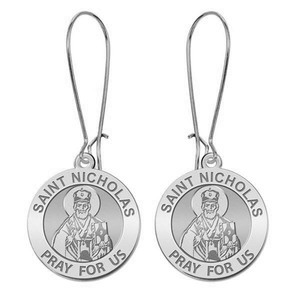 Saint Nicholas Earrings  EXCLUSIVE