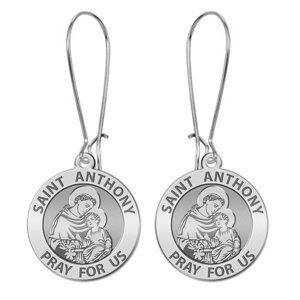 Saint Anthony Earrings  EXCLUSIVE