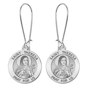 Saint Theresa Earrings  EXCLUSIVE