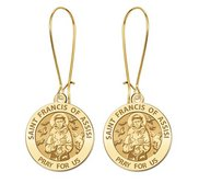 Saint Francis of Assisi  Earrings  EXCLUSIVE