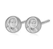 Pair of  Pope Saint John Paul II Stud Earrings