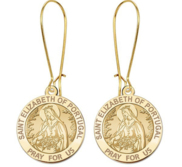 Saint Elizabeth of Portugal Earrings  EXCLUSIVE