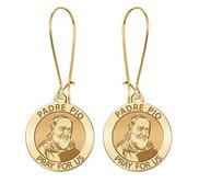 Padre Pio Earrings  EXCLUSIVE