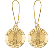 Saint Lazarus Religious Earrings  EXCLUSIVE
