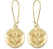Saint Martin de Porres Earrings  EXCLUSIVE