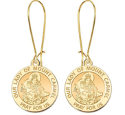 Our Lady of Mount Carmel Earrings  EXCLUSIVE