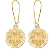 Saint Benedict Earrings  EXCLUSIVE