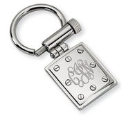Engravable Stainless Steel Keychain