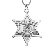 Personalized Sheriff Badge with Your Department