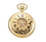 Charles Hubert GoldTone Pocket Watch