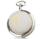 Charles Hubert Photo Two Tone Pocket Watch