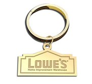 Outlined Key Chain Logo Jewelry