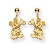 Disney Waving Mickey Mouse Dangle Post Earrings