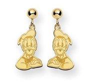 Disney Donald Duck Dangle Post  Earrings