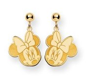 Disney Minnie Mouse Dangle Post Earrings