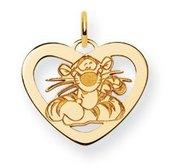 Disney Tigger Heart Charm