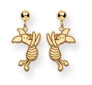 Disney Piglet Dangle Post  Earrings