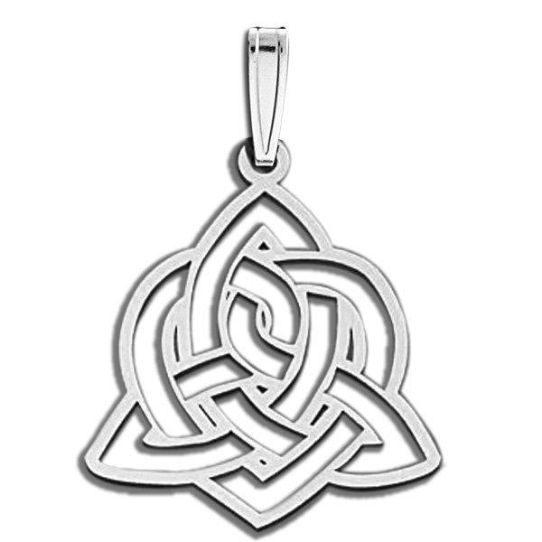 Sister Love Celtic Symbol Cut Out Pendant Pg79391