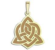 Sister Love Celtic Symbol Pendant