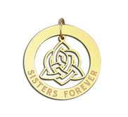 Sisters Forever Dangle Pendant