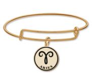 Aries Symbol Expandable Bracelet