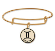 Gemini Symbol Expandable Bracelet