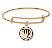 Virgo Symbol Expandable Bracelet