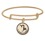 Capricorn Symbol Expandable Bracelet