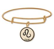 Leo Symbol Expandable Bracelet