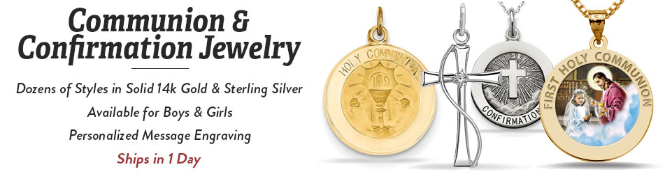 communion & confirmation jewelry