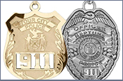 Police Badge Jewelry