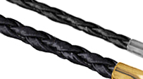 Genuine Black Leather Chains
